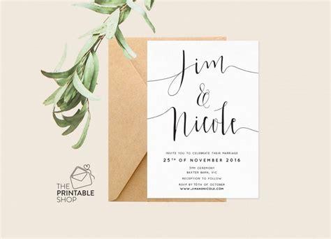 printable stationery invitations printable engagement invitation printable wedding