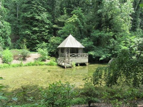 bass boat house boat house on the bass pind biltmore gardens picture of