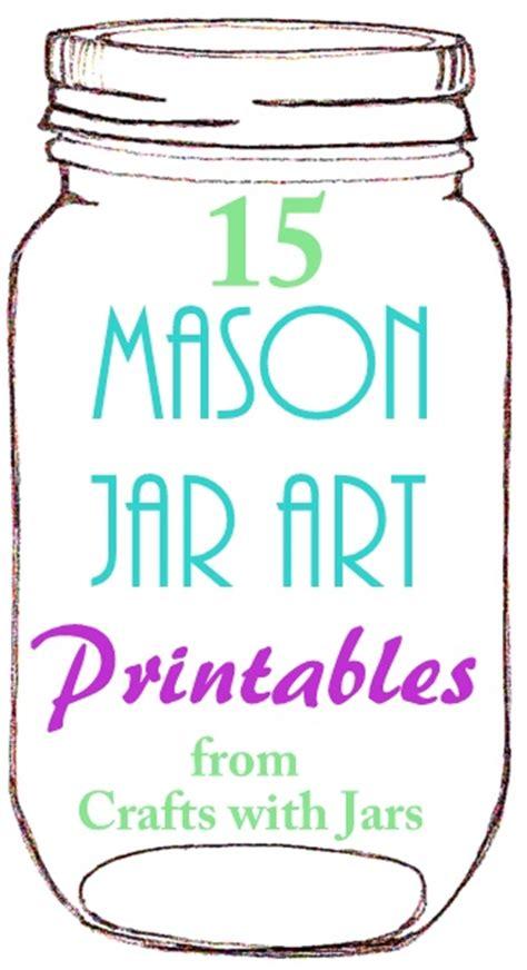 printable glass jar labels crafts with jars printable mason jar art jars