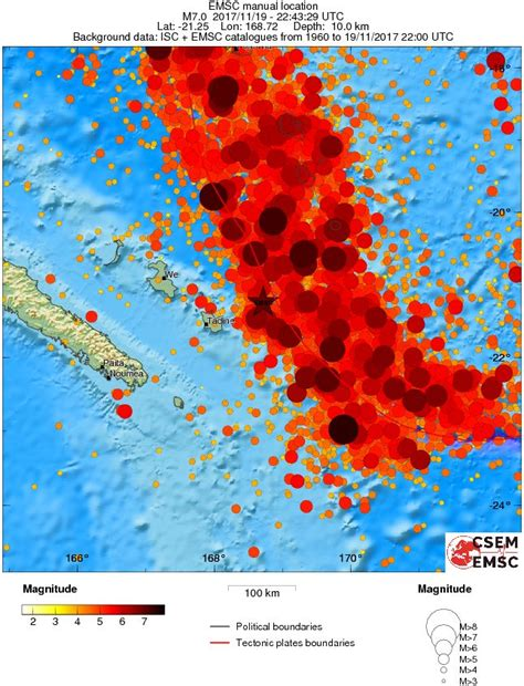 earthquake new caledonia very strong m7 0 earthquake hits new caledonia small