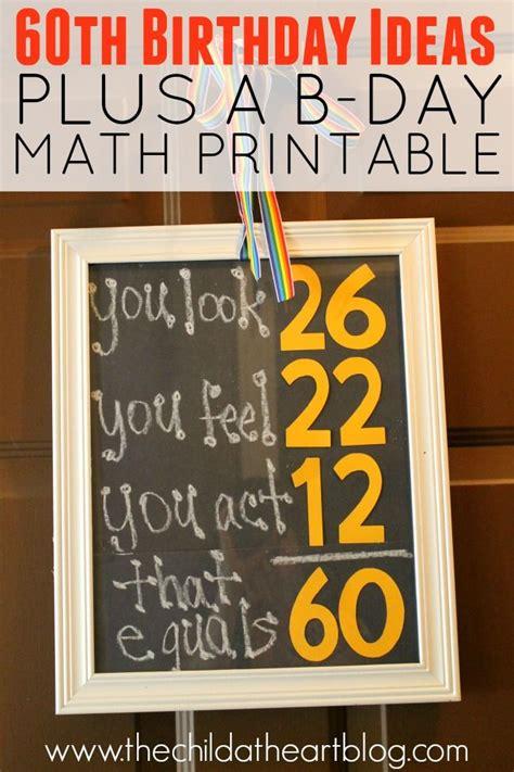 printable 50th birthday party decorations gordon s 60th birthday party free birthday diy birthday