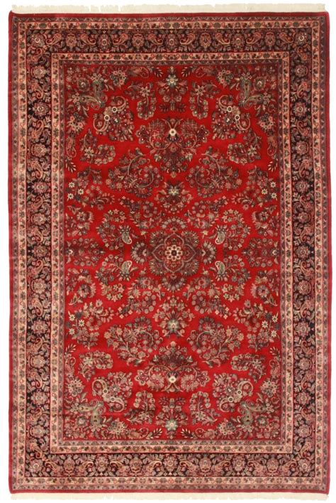 7 X 10 Persian Sarouk Style Rug 12191 Looking Rugs