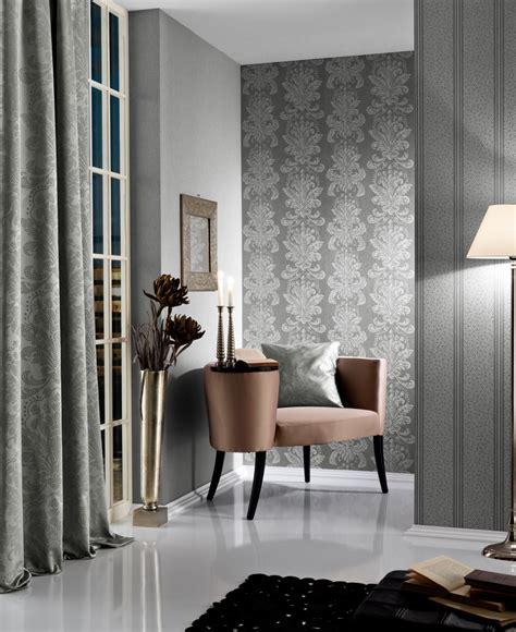 mosaik tapete tapete vlies streifen mosaik grau glitzer fuggerhaus 4790 55