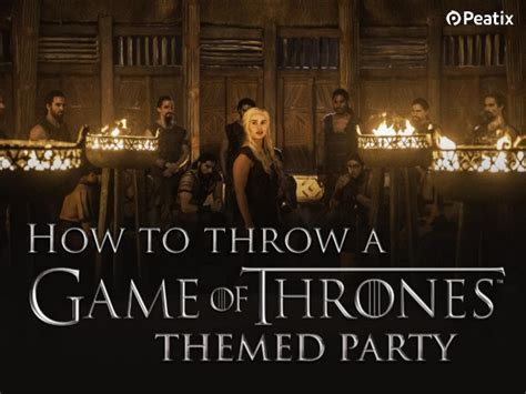 Home Design Game Hacks Event Ideas How To Plan A Game Of Thrones Themed Party