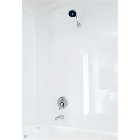 bathroom wall panels bunnings vistelle 2440 x 1000 x 4mm salt bathoom shower and feature