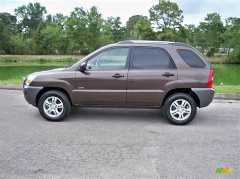 Kia Sportage 2008 2008 smokey brown metallic kia sportage lx v6 4x4