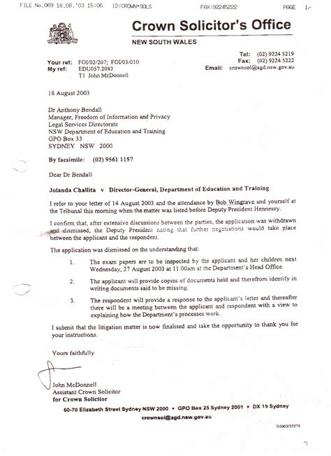 Solicitor Letter Of Demand