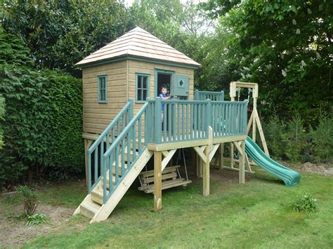 Outside Playhouse Plans by Childrens Wooden Playhouse Treehouses The Playhouse