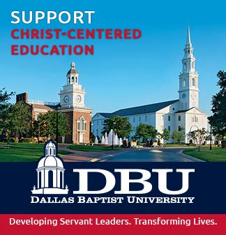 Dallas Baptist Mba Tuition by Support Dallas Baptist Request More Information