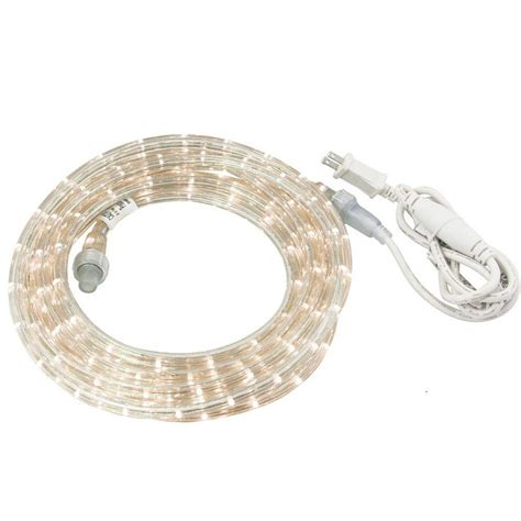 irradiant 30 ft cool white led rope light kit lr led cw