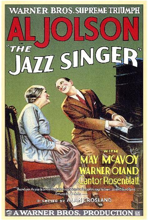 El Cantante Gets A New Poster by Al Jolson El Cantante De Jazz 1927 Vose Mega
