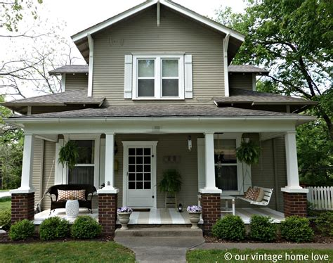 house front porch vintage home love spring summer porch ideas