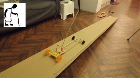 mousetrap powered boat mouse trap powered car goes up a slope youtube