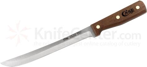 case kitchen knives case household cutlery 9 quot slicing knife walnut handles