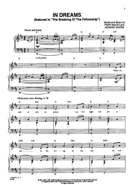 theme song lord of the rings lord of the rings piano sheet music