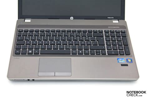 keyboard layout i3 review hp probook 4530s notebook notebookcheck net reviews