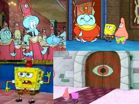 film kartun anak spongebob pesan rahasia kegelapan walt disney spongebob dan naruto