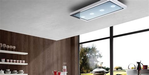 White Kitchen Ideas Uk by Amadeus Ceiling Cooker Hood Air Uno Designer Cooker Hoods
