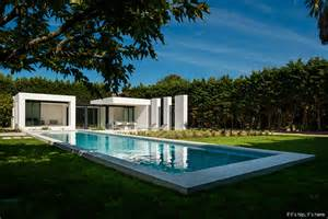 modern pool house gorgeous modern pool house in basque country by atelier dc
