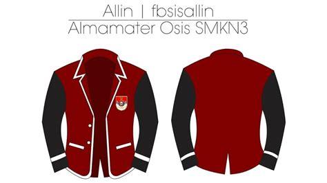 contoh desain jas untuk osis jasa pembuat almamater blazer sekolah atau kuliahan