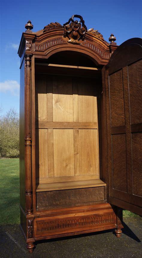 rococo armoire french walnut rococo louis xv armoire wardrobe antiques atlas