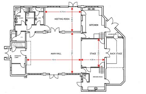 dimensioned floor plan dimensioned ground floor plan ottershaw