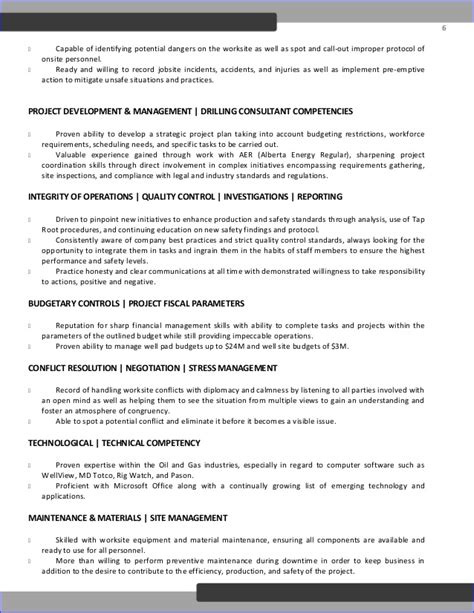 Drilling Superintendent Sle Resume by Deutschotis Drilling Supervisor Resume Od Edit