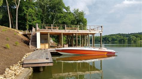 boat lift knoxville tn dock construction for summer cs knoxville tellico