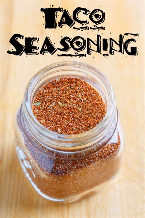 taco seasoning on closet cooking
