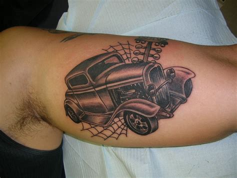 hot rod tattoo designs rod image 162