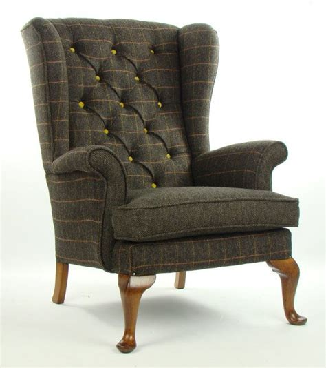 pin by dede parker on dwelling place pinterest vintage parker knoll armchair harris tweed wool by