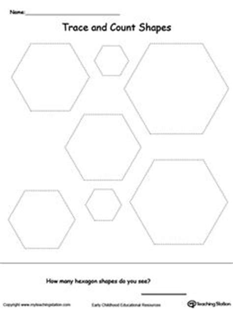 hexagon pattern worksheet trace shapes to make a face activities the o jays and
