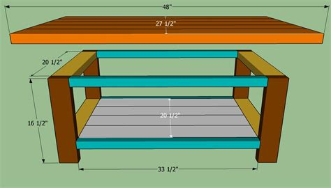 build a simple desk easy coffee table plans coffee table design ideas