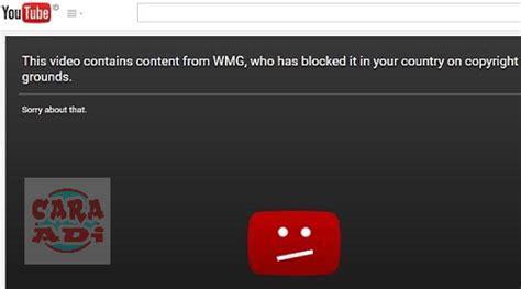 membuka youtube diblokir cara mudah membuka video youtube yang diblokir tanpa