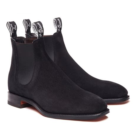 rm williams suede craftsman mens boots o c butcher