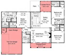 1800 Square Foot Floor Plans by Ranch House Plans 1800 Sq Ft Pictures To Pin On Pinterest