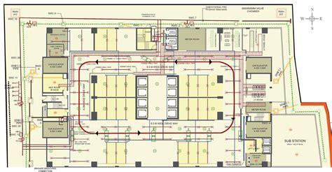 commercial complex floor plan naman midtown