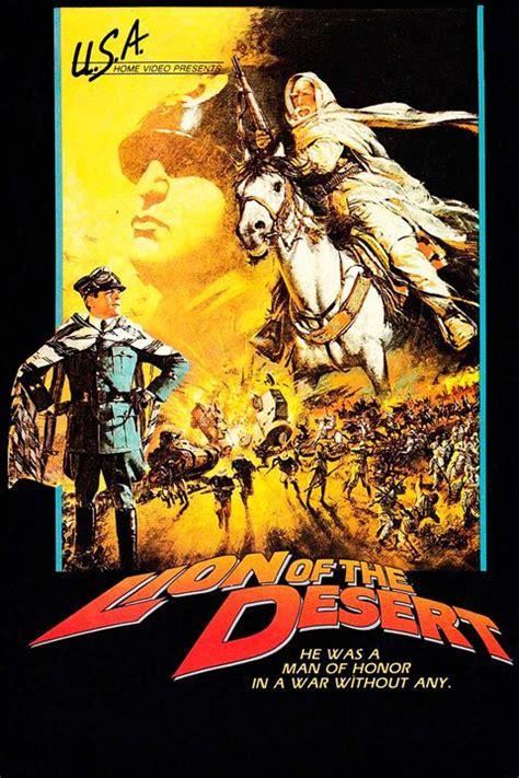 film lion du desert affiche du film le lion du d 233 sert affiche 2 sur 2 allocin 233