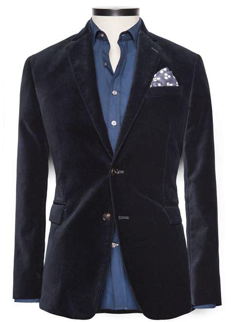 Royal Eksekutif Premium Blazer lyst mango velvet premium blazer in blue for