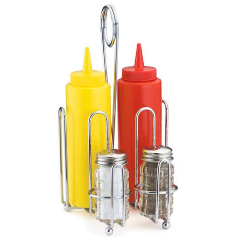 Condiment Rack by Combination Condiment Rack Table Tidy At Drinkstuff