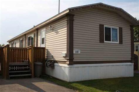 mobile homes for less million dollar trailer park homes not likely calgary s