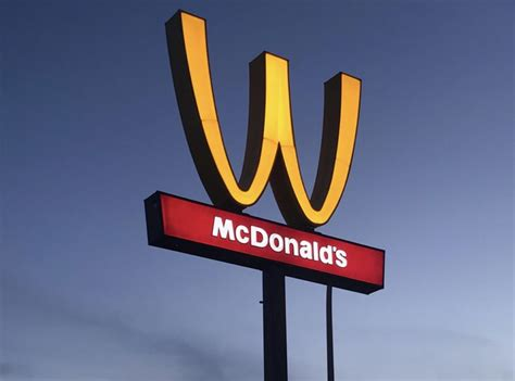 Mcdonald S where will mcdonald s flip its arches for international