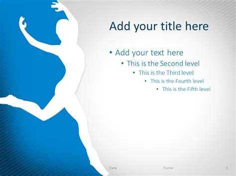 ppt themes dance ballet the free powerpoint template library