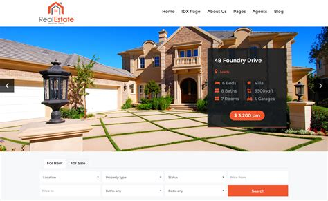 top 20 best real estate free and premium themes for