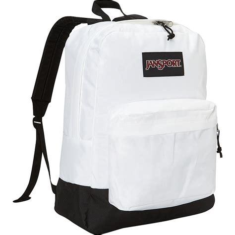 White Backpack Bag jansport