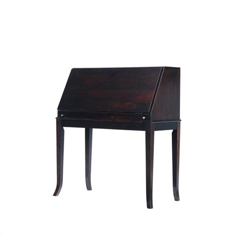 secretary desk espresso stanley furniture hudson street dark espresso mercantile