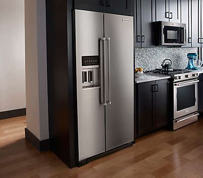 Kitchen Bar Counter Depth by 23 Cu Ft 35 Quot Monochromatic Stainless Steel Freestanding
