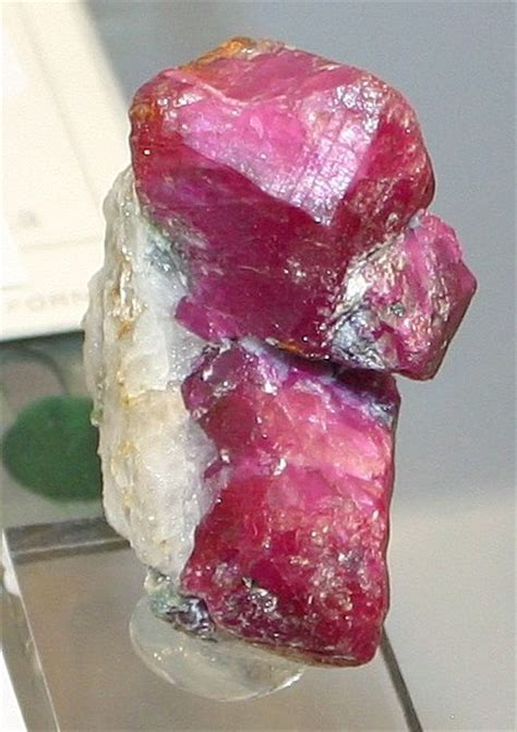 ruby mineral information photos and facts corundum