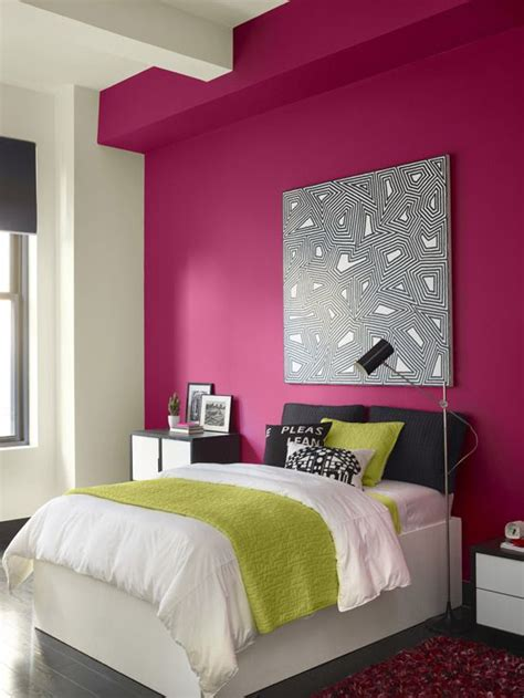 pink colour bedroom decoration 25 best ideas about pink accent walls on pinterest