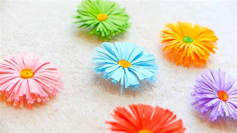 How To Make Flowers Out Of Paper Easy - 17 stunning how to make paper flowers tutorials sad to